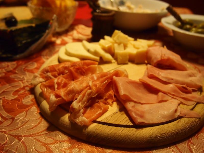 tradiční aperitiv v itálii