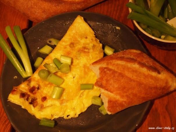 omeleta italská