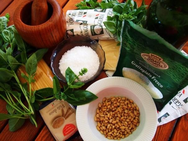 ingredience pesto