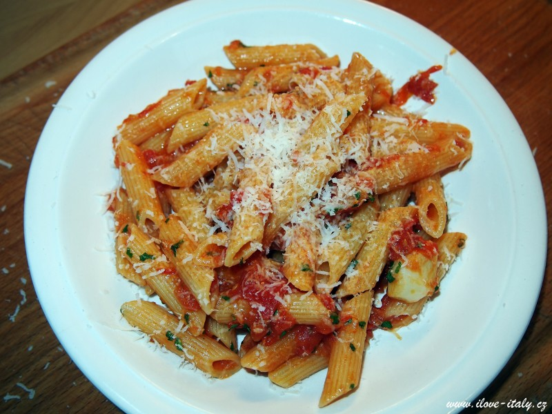 penne all´arrabbiata recept