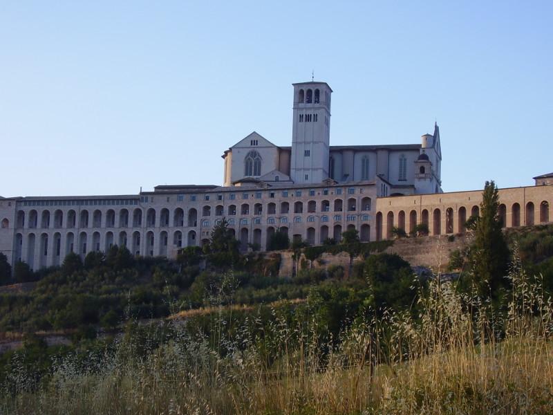 assisi katedrála svatého františka