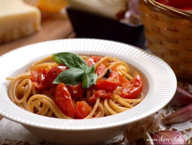 omáčka z cherry rajčátek