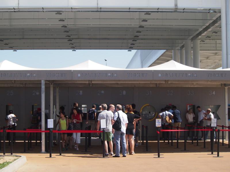 kasy na expo lístky