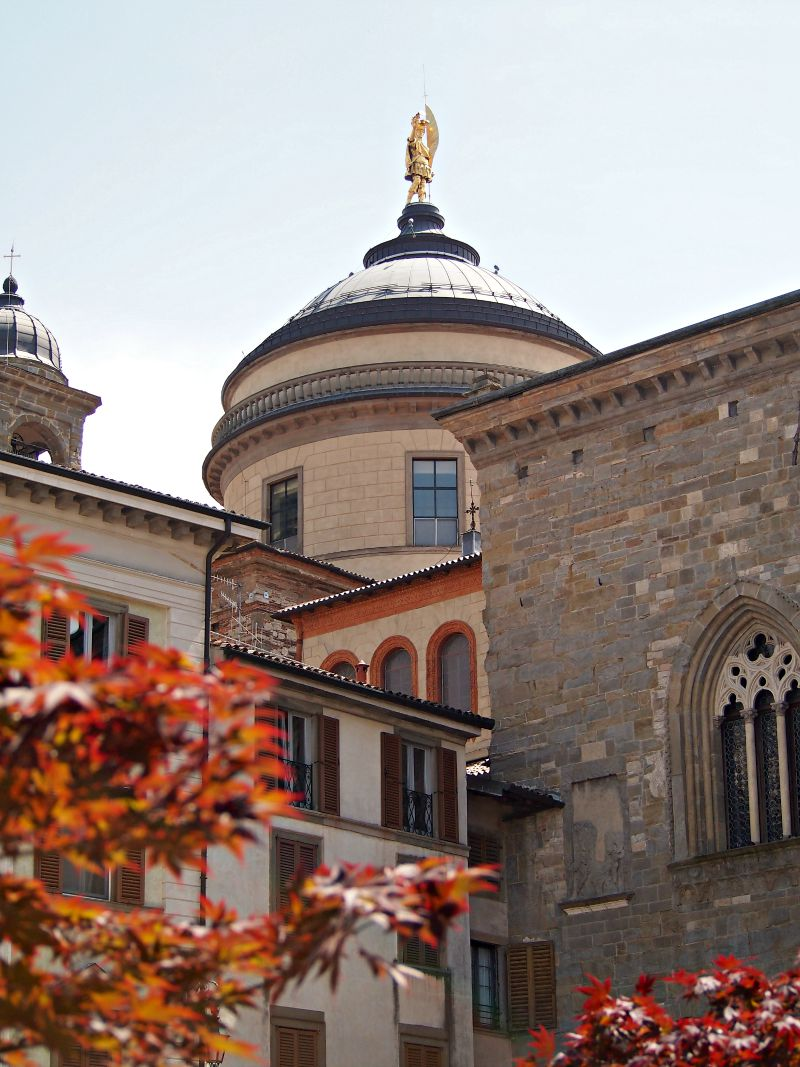 piazza vecchia centrum města