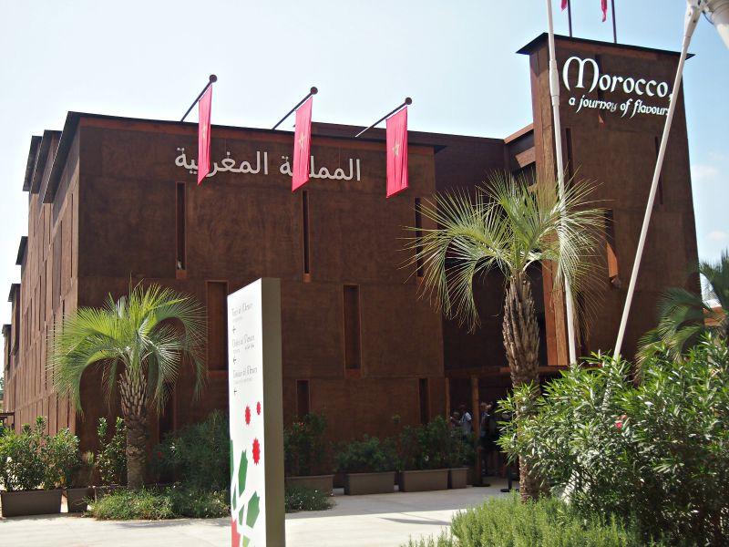 pavilón maroko