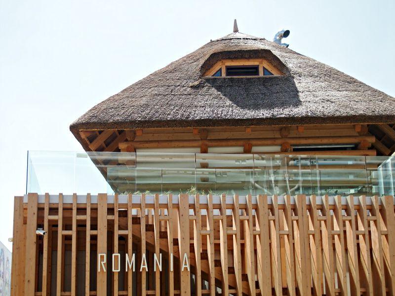 rumunský pavilon