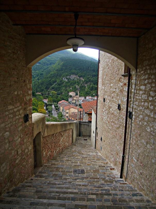 itálie ulička