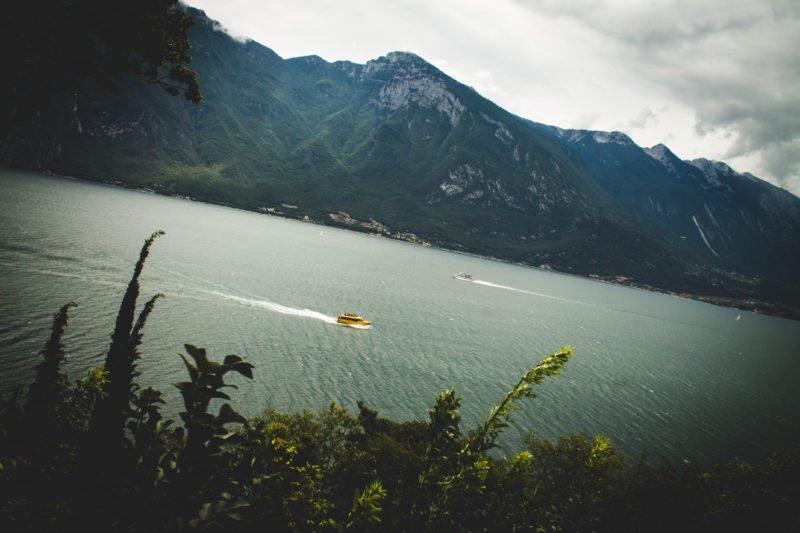 jezero itálie dovolená