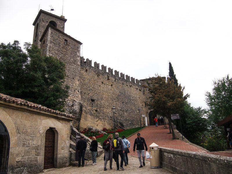san marino hrad