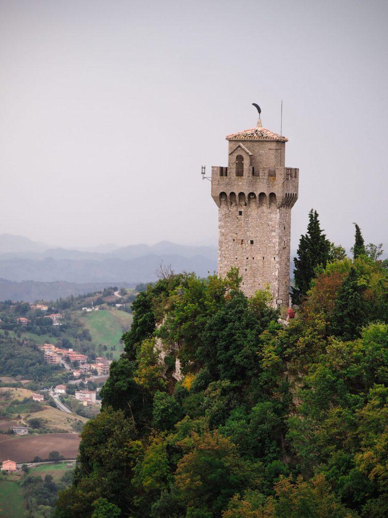 san marino třetí věž