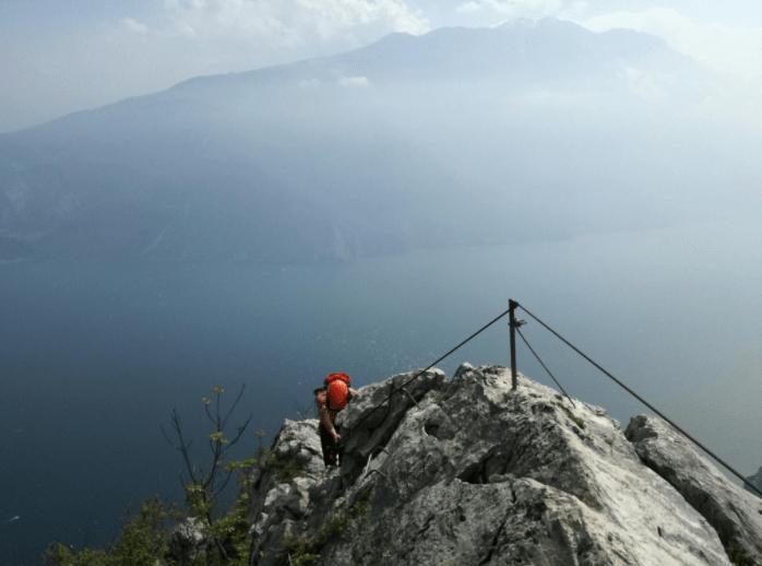 Klettersteig Gardasee : Klettersteig cima capi u2013 gardasee iloveadventure.de
