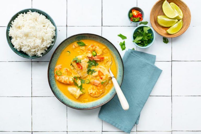 Thai Fish Curry, I Love Cooking curry