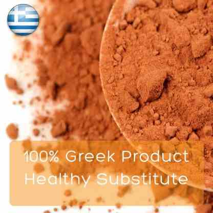 100p Greek product healty substitute.