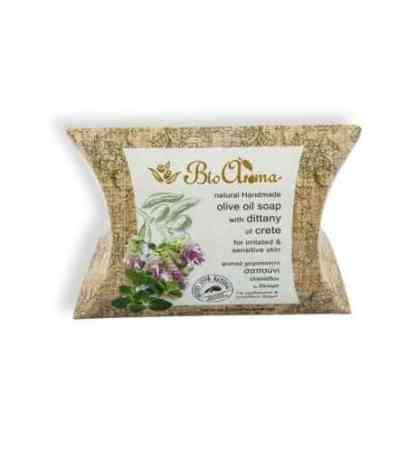 Handmade Olive oil soap with dittany. - www.ilovecrete.eu