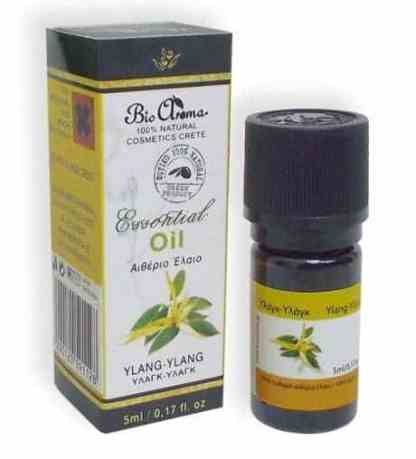 Ylang ylang essential oil. For home aromatherapy. - www.ilovecrete.eu