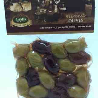 Mixed olives.