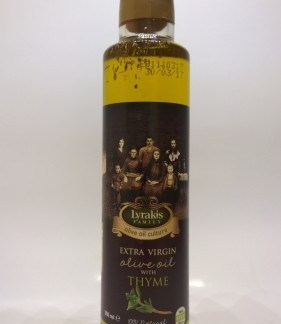 Olive oil with Thyme.