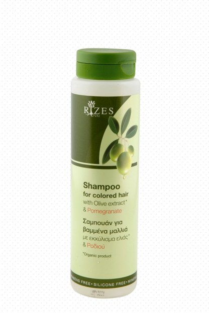 Shampoo for coloured hair with olive extract. - www.ilovecrete.eu