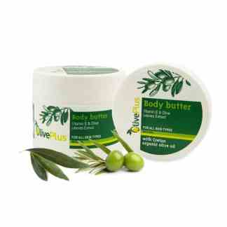 Body Butter Olive Leaves Extract