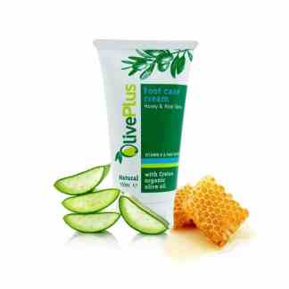 foot care cream with honey and aloe vera
