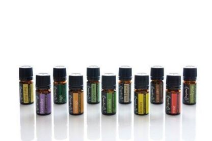 Big set with 11 essential oils.