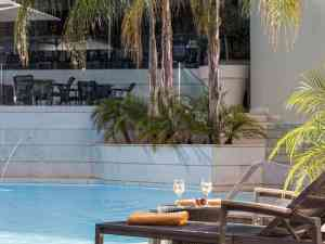 Relax at the pool at Galaxy Iraklio Hotel, Heraklion - Crete - Greece