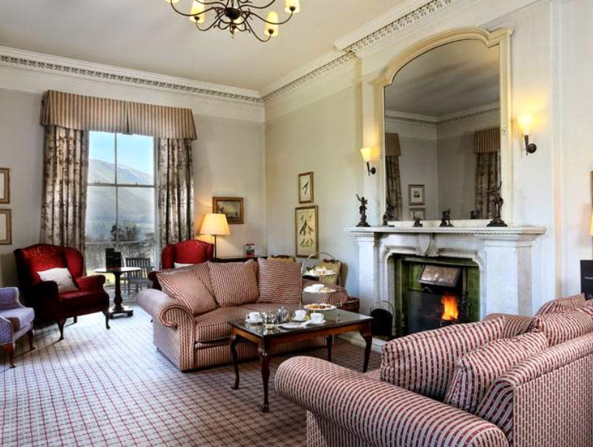 A traditional room at the Macdonald Leeming House in Cumbria