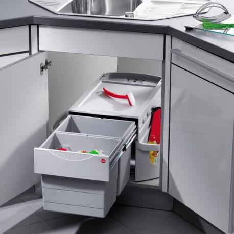 poubelle cuisine pour meuble d angle
