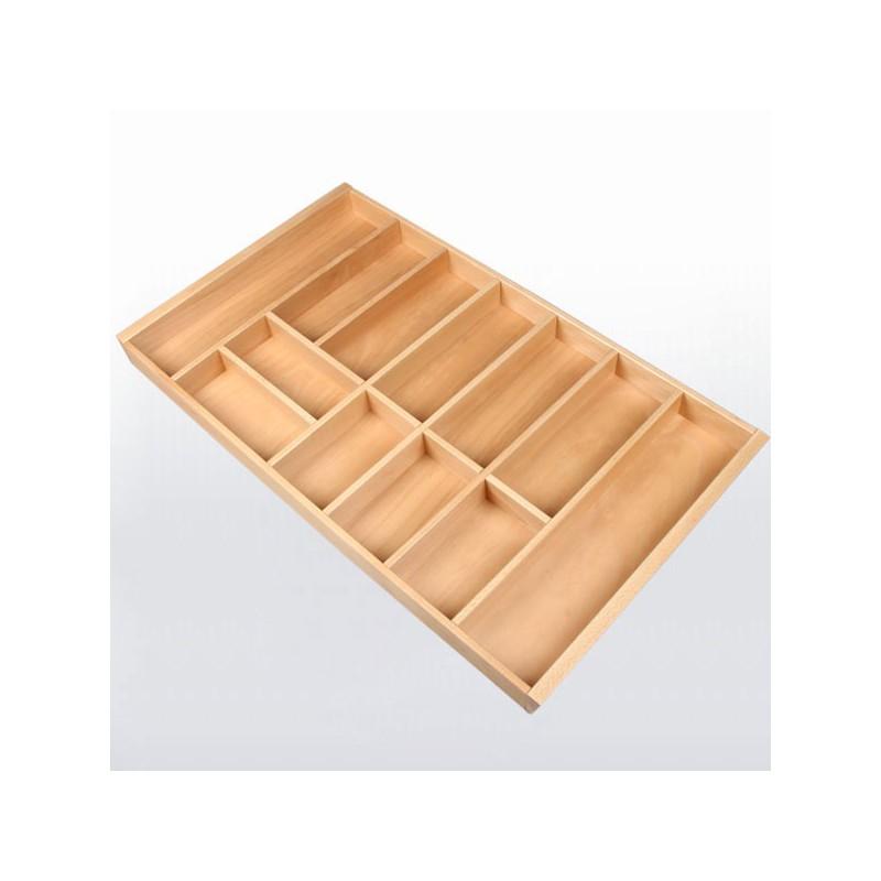 range couverts bois pour tiroir de 900 mm de large