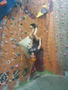 Rock Climbing at Alien Rock