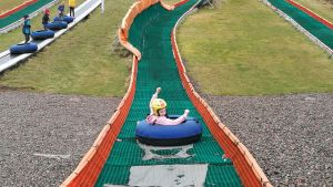 Snow Tubing at Hillend Snow Sports Centre