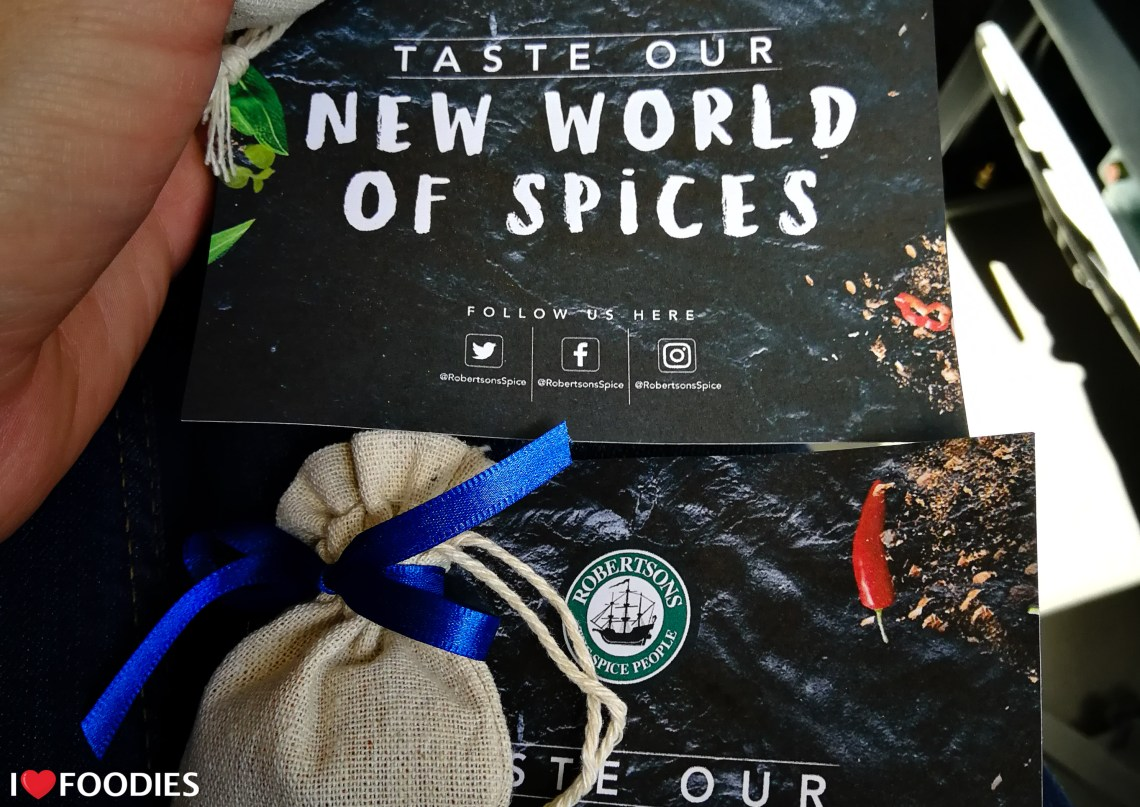 Robertson Spices taste our new world of spices
