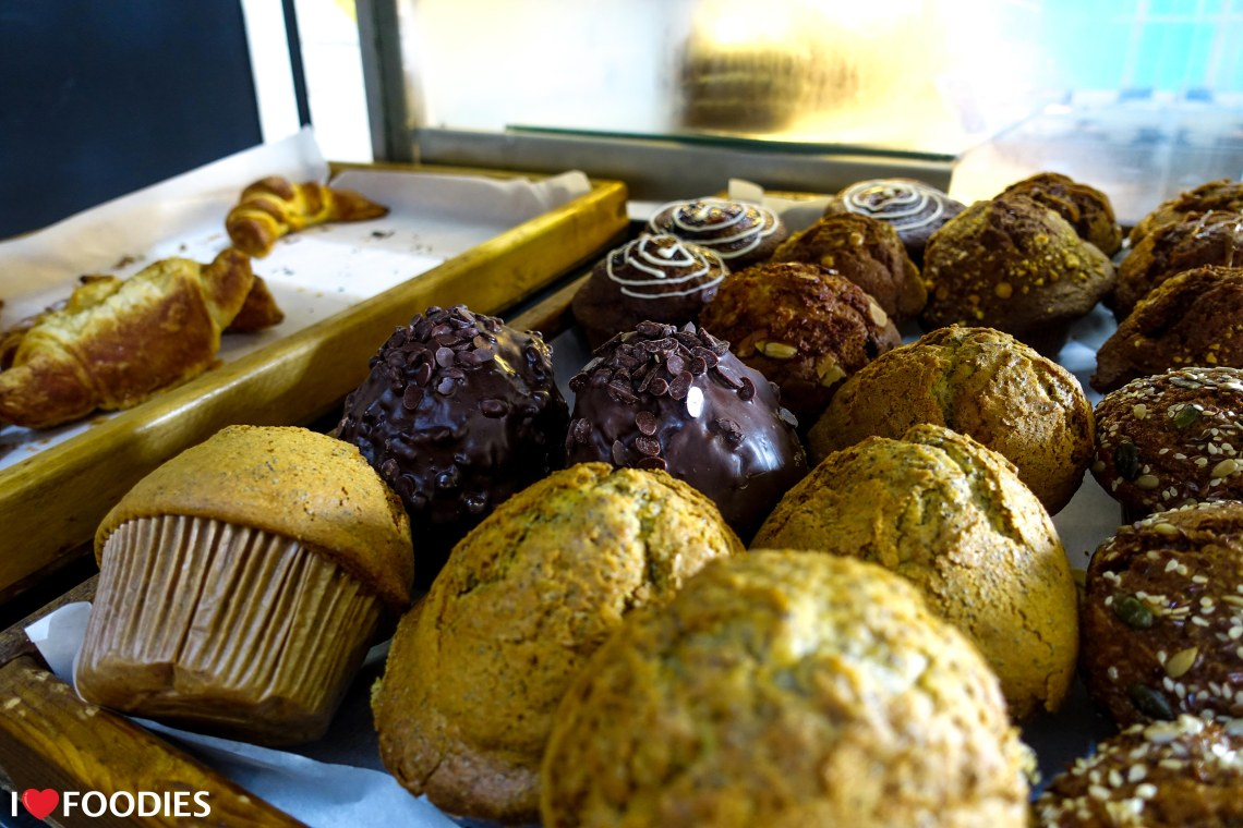 Dolce Bakery muffins