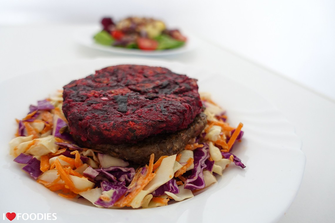 Naked Leaf Vegan Burger Patties - Beetroot & Bean Patty