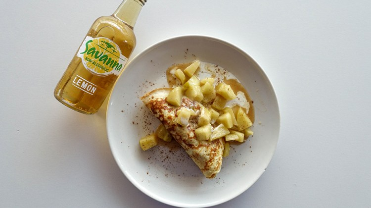 Caramelised Apple Pancake Recipe