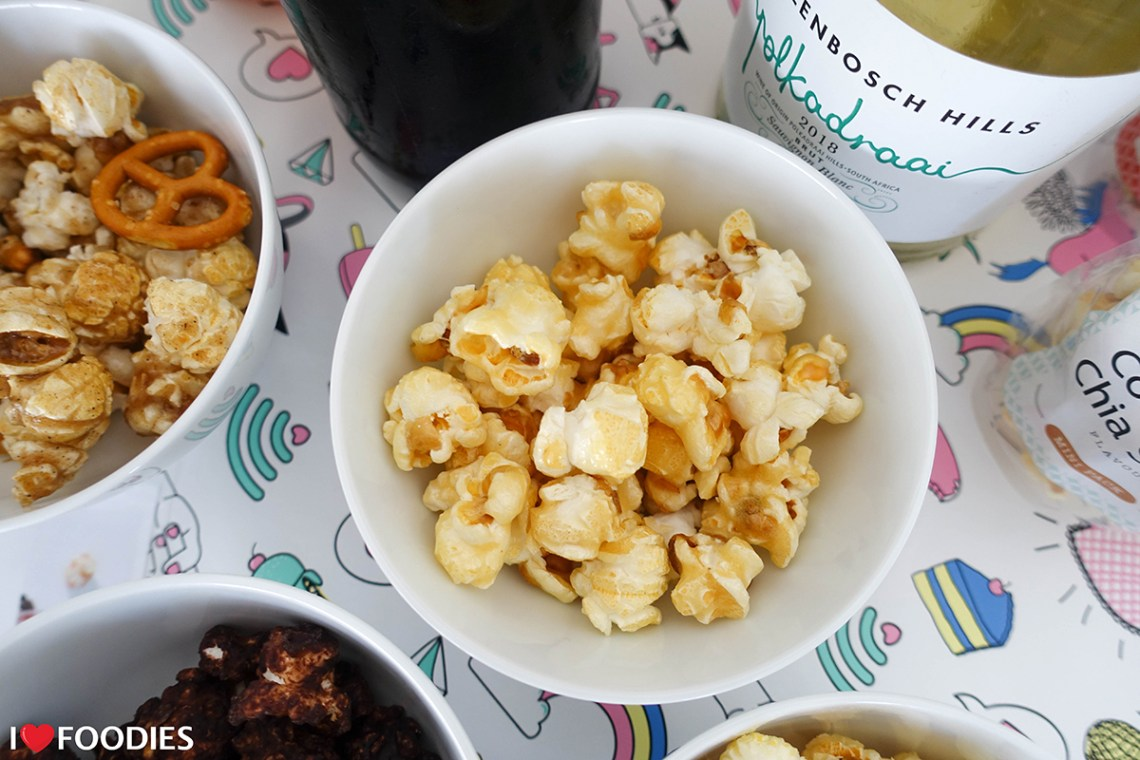 Guzzle and Wolf Salted Caramel Popcorn