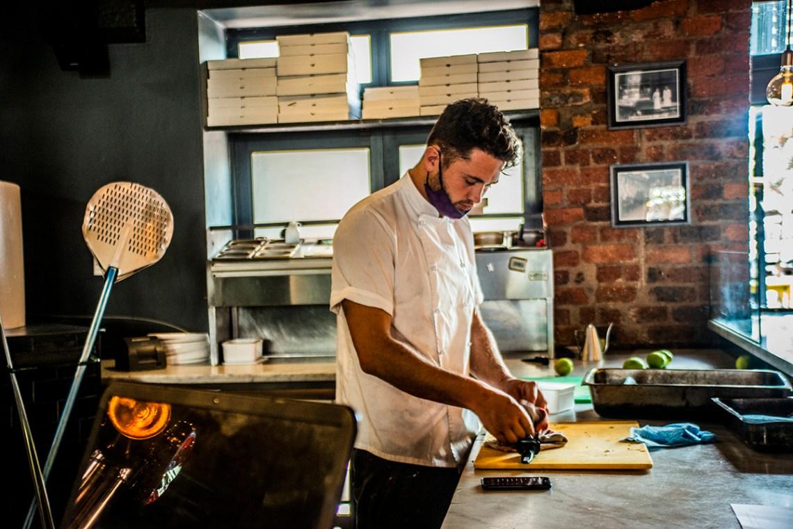 Purveyor Steakhouse & Pizzeria Chef Justin Joubert
