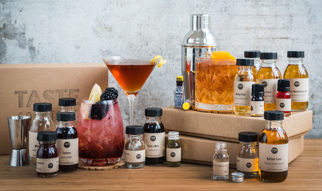 London at-home cocktails with Taste