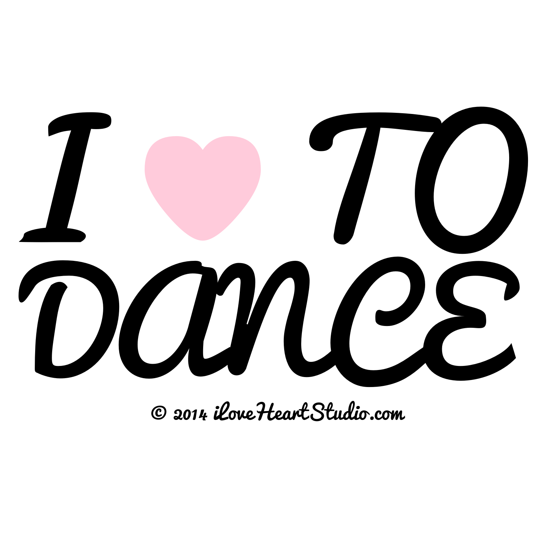 I Love Heart To Dance Design On T Shirt Poster Mug