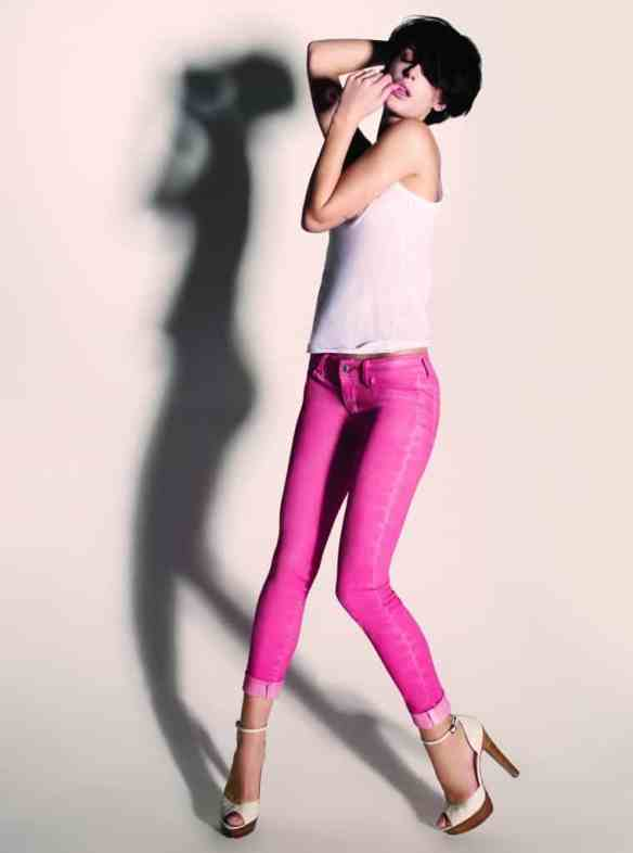 Carrie Skinny Orange Acid Jeans £60