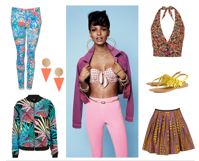 TOPSHOP'S TOTALLY TROPICAL