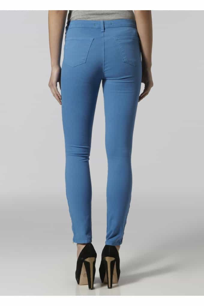 THE BEHIND: THE J BRAND MAJOR SKINNY IN BLUE BONNET.