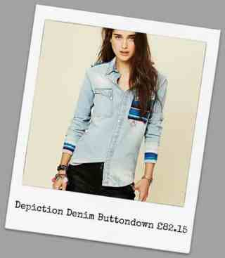 Depiction Denim Buttondown