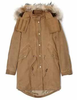 Burberry Brit Fur Trim Warmer Parka