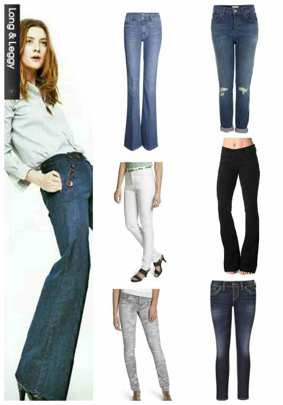6 HANDPICKED JEANS FOR LONG & LEGGY