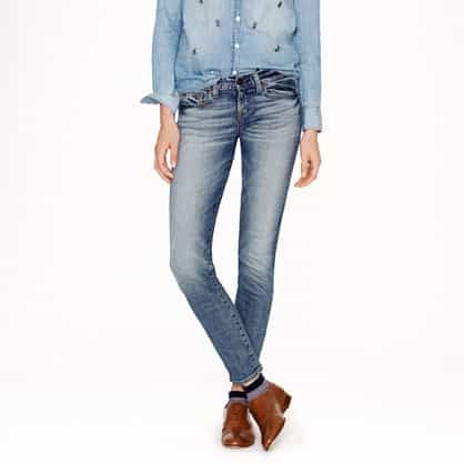 Relax Selvedge toothpick jean in cherish wash item 04579 £188.00