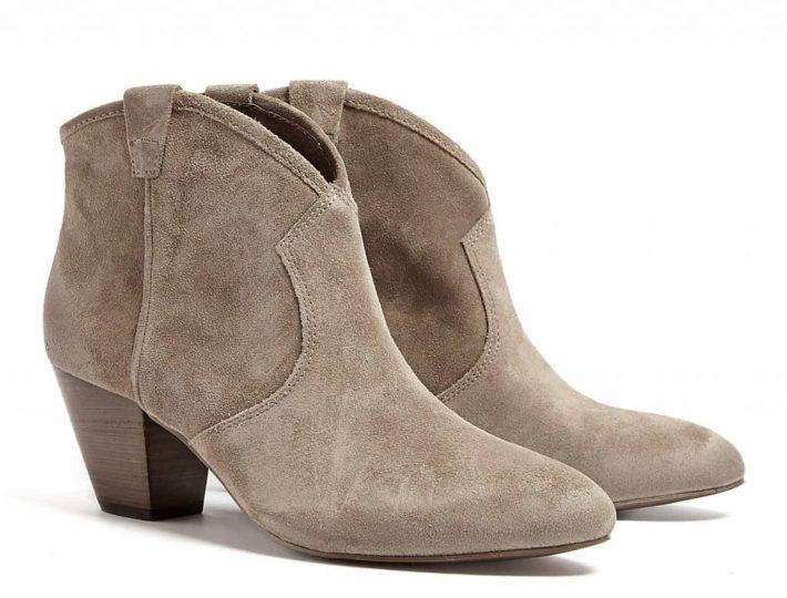 ASH Stone Suede Jalouse Boots £145