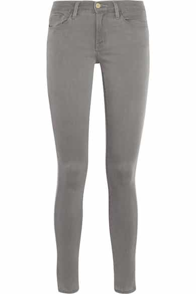 Frame denim, grey skinny