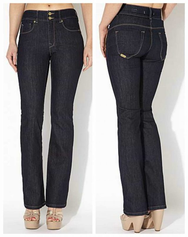 Conceal, Reveal , flabby belly, salsa secret jeans, high waist, pull in