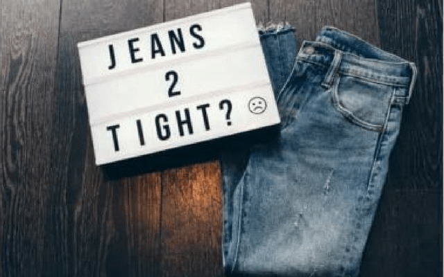 HOW TO STRETCH YOUR JEANS